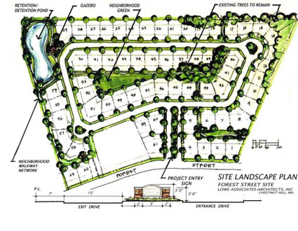 Stonegate residential subdivision enman kesselring consulting engineers for Subdivision planning and design